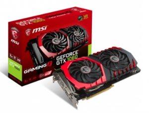 Karta graficzna do gier MSI GTX 1060 GAMING X 3GB